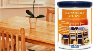 Come applicare olio naturale per legno KK 1500 Sayerlack compatibile con alimenti