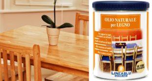 olio naturale per legno