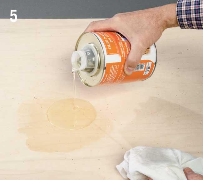 olio per legno protettivo