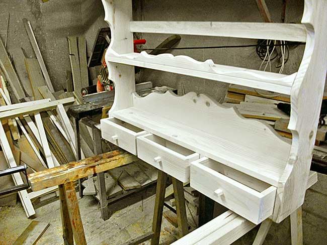 Piattaia in legno fai da te come realizzarla in stile for Costruire serra legno