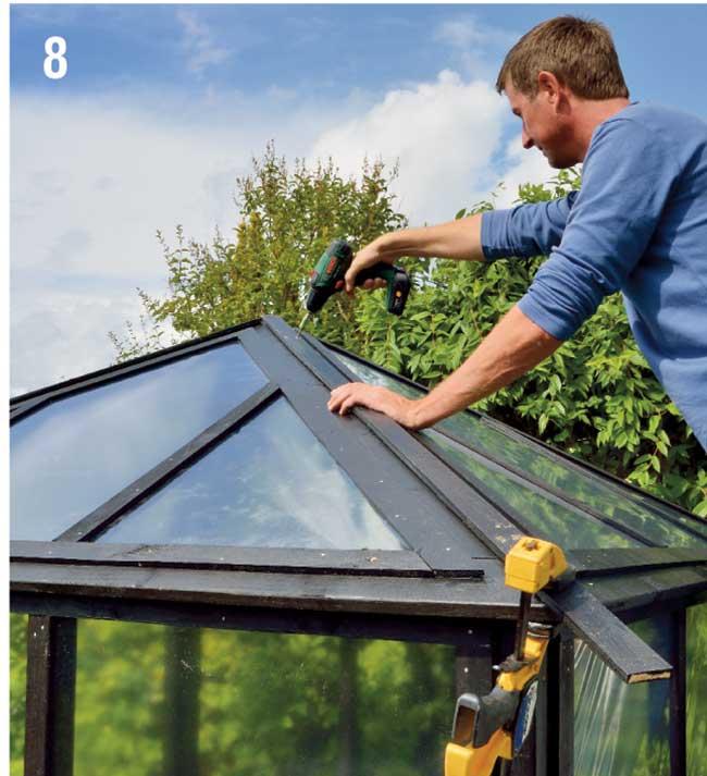 copertura giunti tetto