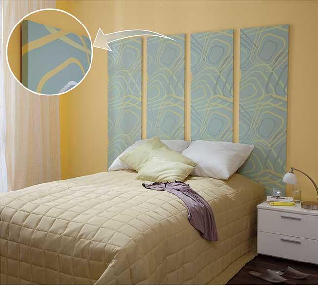 Testiera letto fai da te 8 soluzioni diverse in 94 foto passo passo - Ikea testiere letto ...