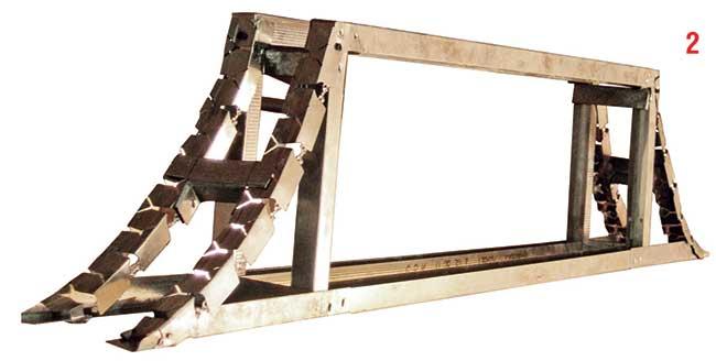 telaio per parete curva in cartongesso