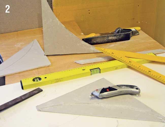 taglio cartongesso con cutter