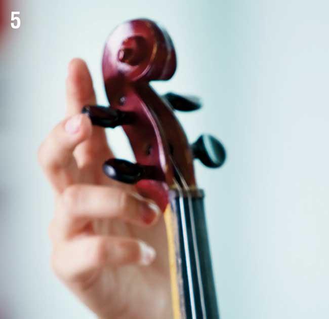 come accordare il violino