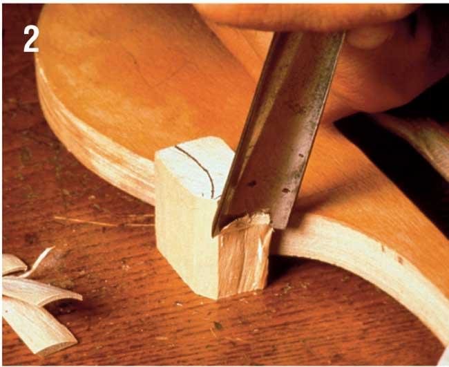 sgorbia costruzione violino