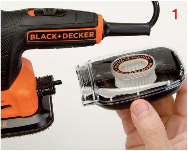 sistema a microfiltri black+decker