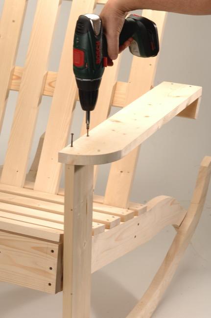 Sedia A Dondolo Inventore.Costruire Una Sedia A Dondolo In Legno Bricoportale Fai Da Te E