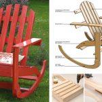 Costruire una sedia a dondolo in legno