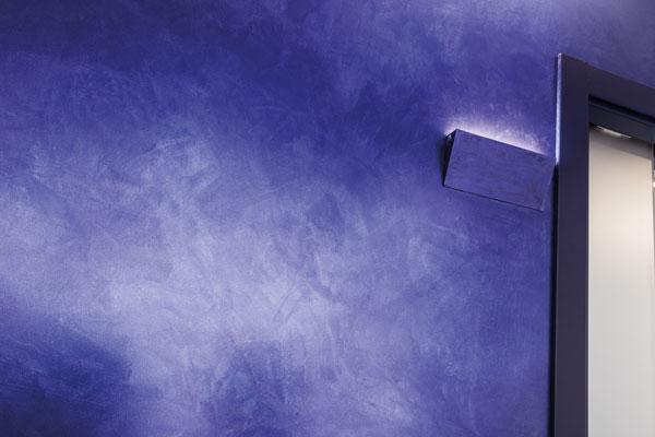 punto luce su telaio cartongesso