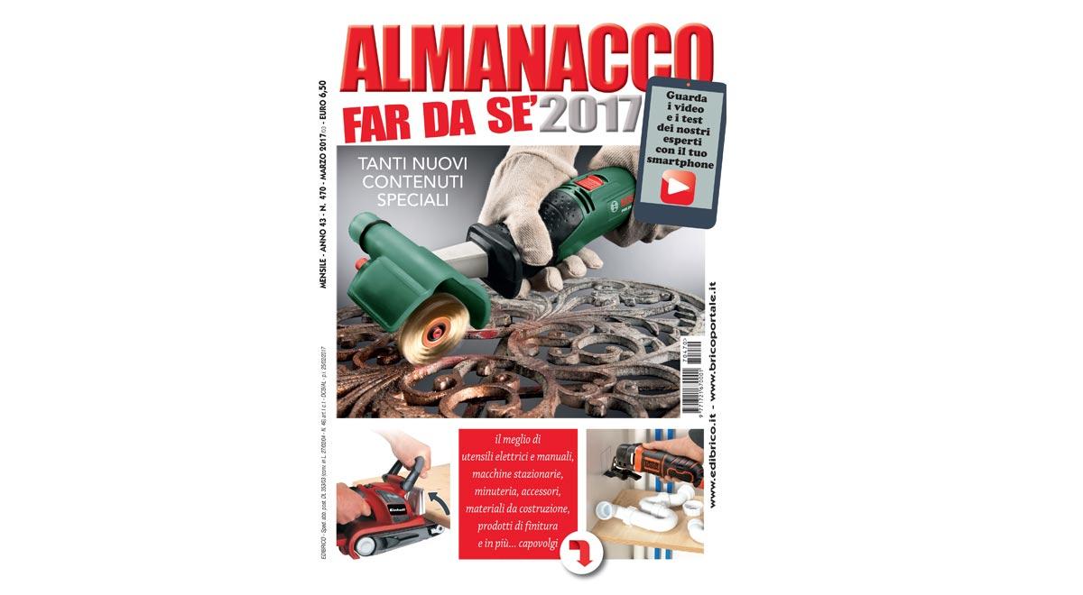 """ALMANACCO 2017:  """"punta"""" e raddoppia"""