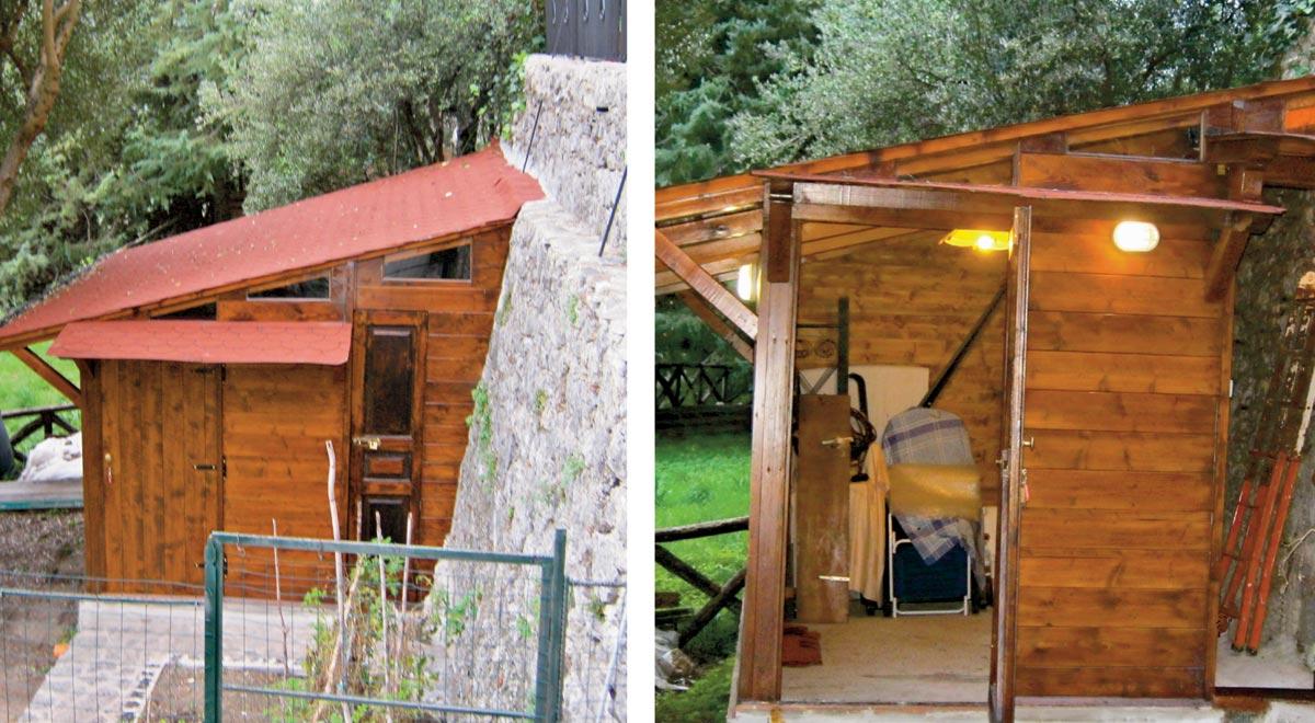 Casetta attrezzi fai da te guida completa all costruzione passo passo bricoportale fai da - Costruire una casa di legno ...
