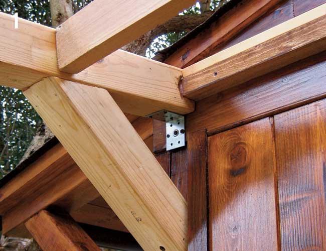 contrafforti in legno