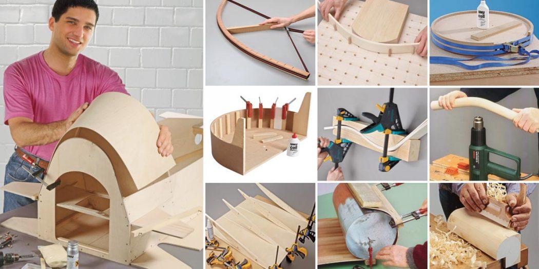 curvare il legno