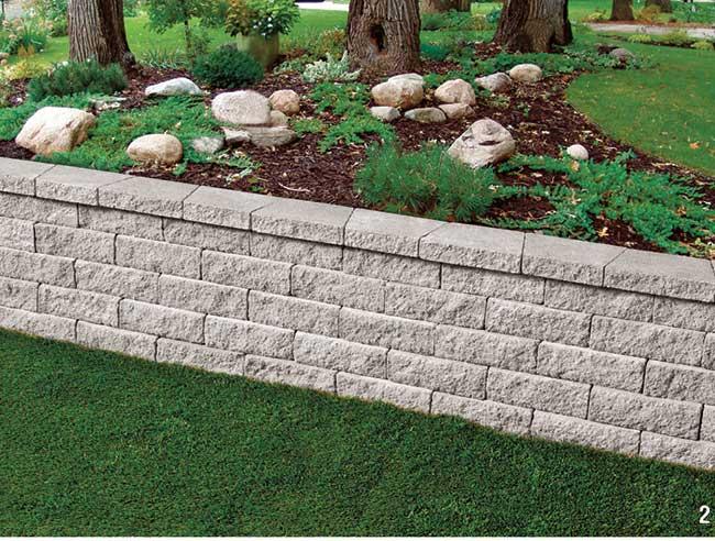 Muri in pietra fai da te come realizzarli con elementi - Muretti in pietra giardino ...