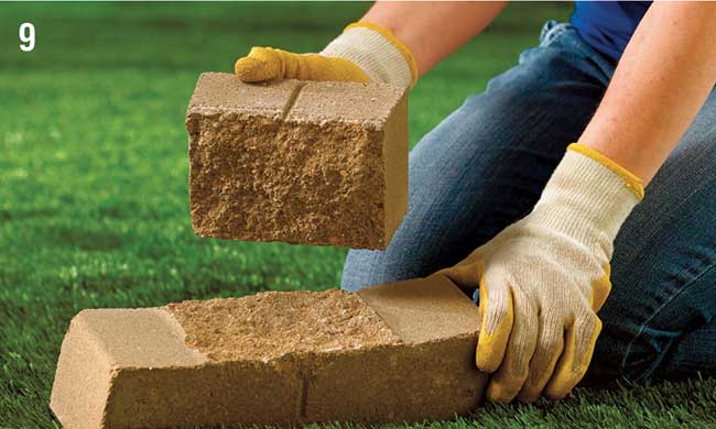 Muri in pietra fai da te come realizzarli con elementi for Mattoni per aiuole