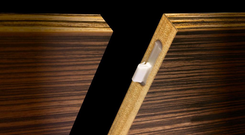 Ovvo nuova giunzione a scomparsa per legno recensione - Pitturare legno senza carteggiare ...