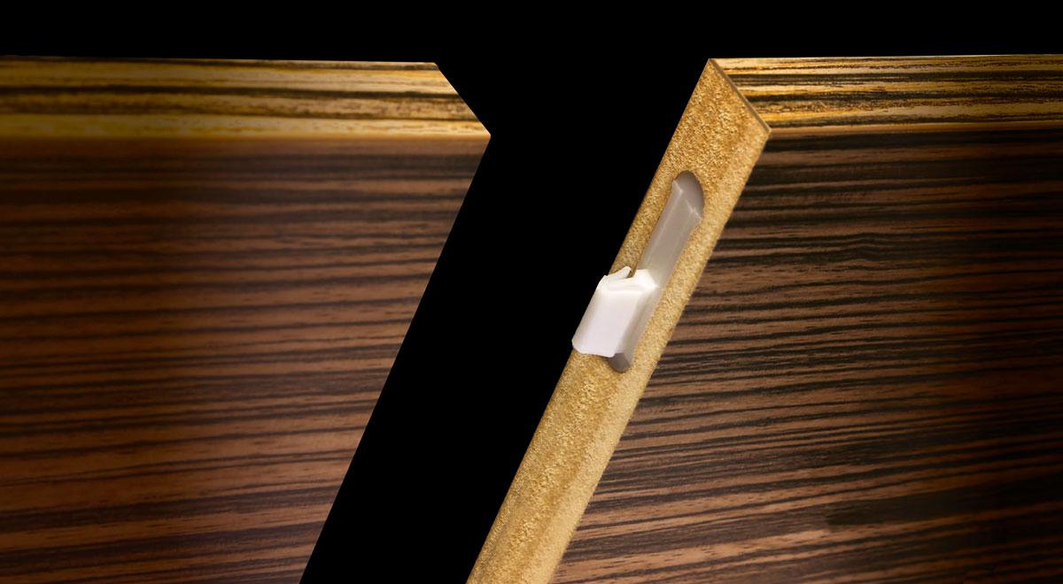Ovvo | Nuova giunzione a scomparsa per legno