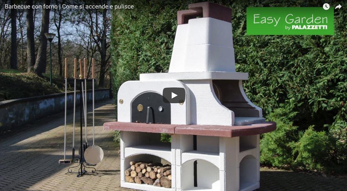 Accensione e pulizia forno barbecue Palazzetti Parenzo