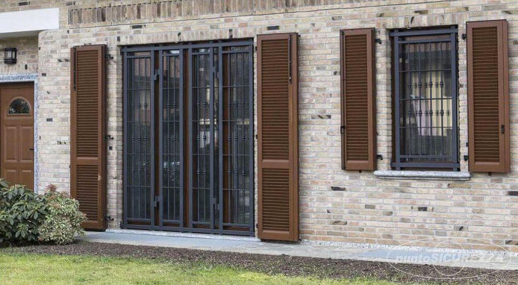 Inferriate di sicurezza per finestre caratteristiche modelli e acquisto - Inferriate mobili per finestre ...