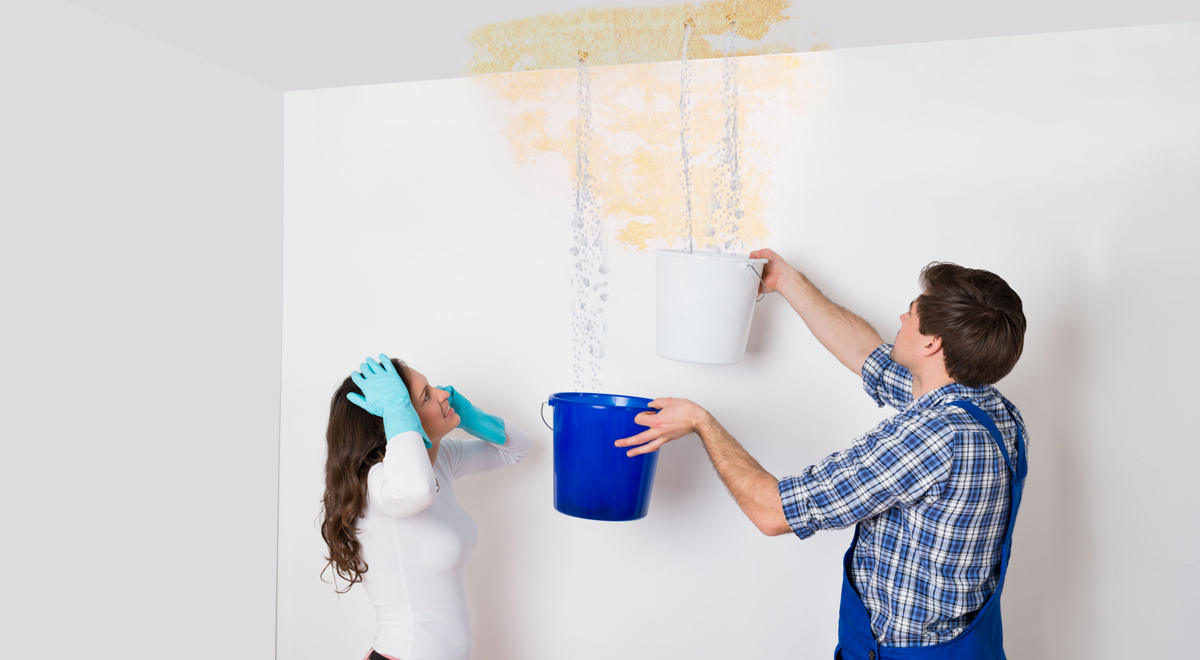 Infiltrazioni acqua | Come risolverle definitivamente in 10 passaggi