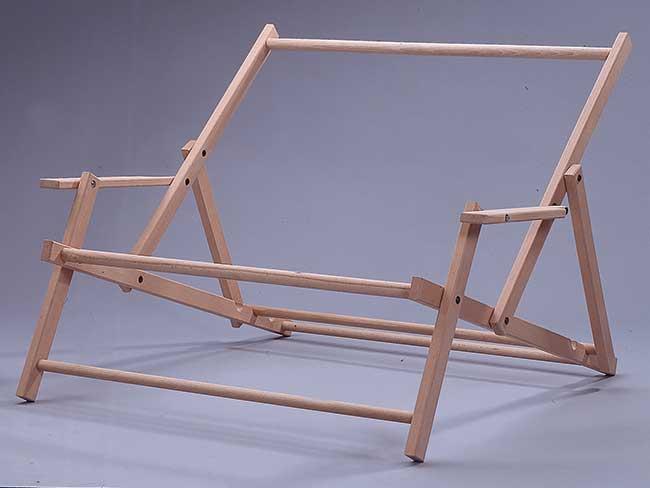 telaio sdraio in legno