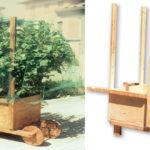 Spostavasi fai da te in legno per piante | Progetto completo