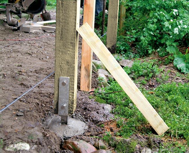 stabilizzare un palo