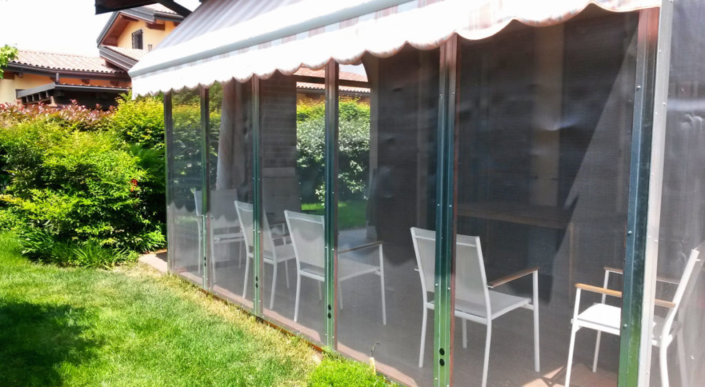 Veranda fai da te antizanzare come costruirla - Costruire veranda in giardino ...