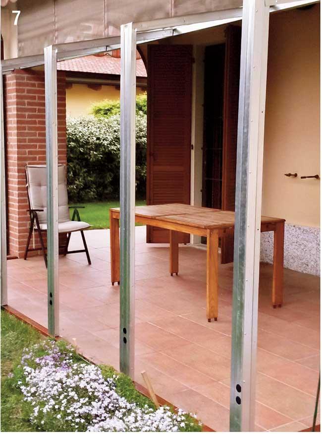 Veranda Fai Da Te Antizanzare Come Costruirla Utilizzando