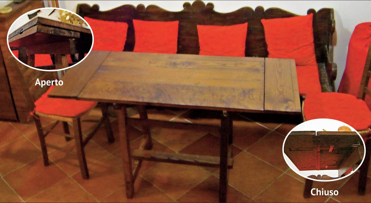 Tavolo fratino allungabile fai da te come progettarlo e - Tavolo pieghevole fai da te ...