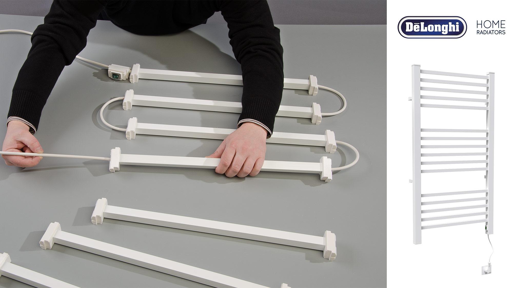 Termoarredo in kit Ottavio De' Longhi   Guida all'installazione