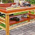 Banco da lavoro fai da te in legno | Come costruirlo senza incastri