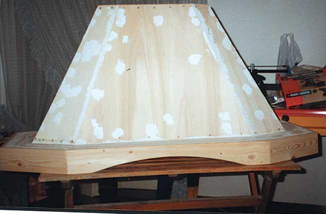 Come costruire una cappa cucina fai da te rustica - Bricoportale