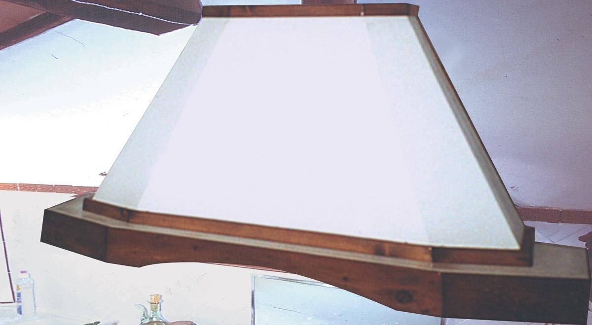Come costruire una cappa cucina fai da te rustica - Come rinnovare una cucina in legno ...