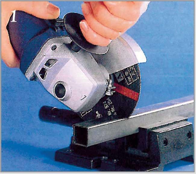 taglio tubo quadro