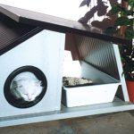 Cuccia per gatti da esterno fai da te | Come costruirla con materiale di recupero