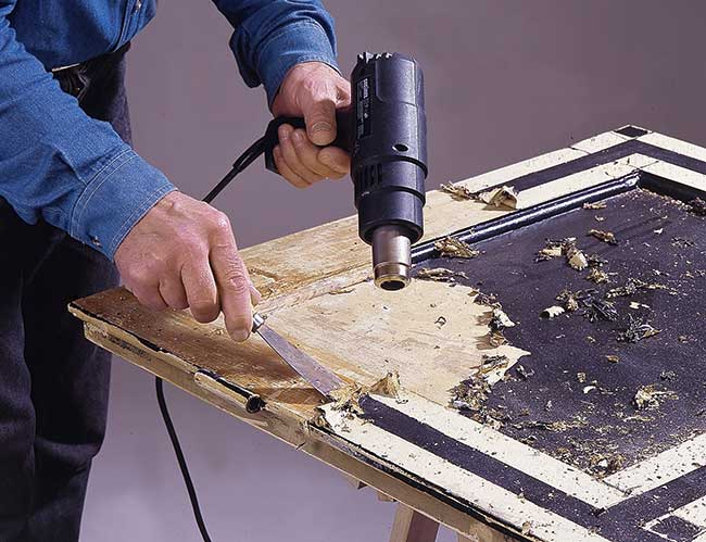 sverniciatura del legno