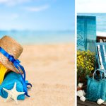 Sdraio decorata fai da te e idee utili per la spiaggia