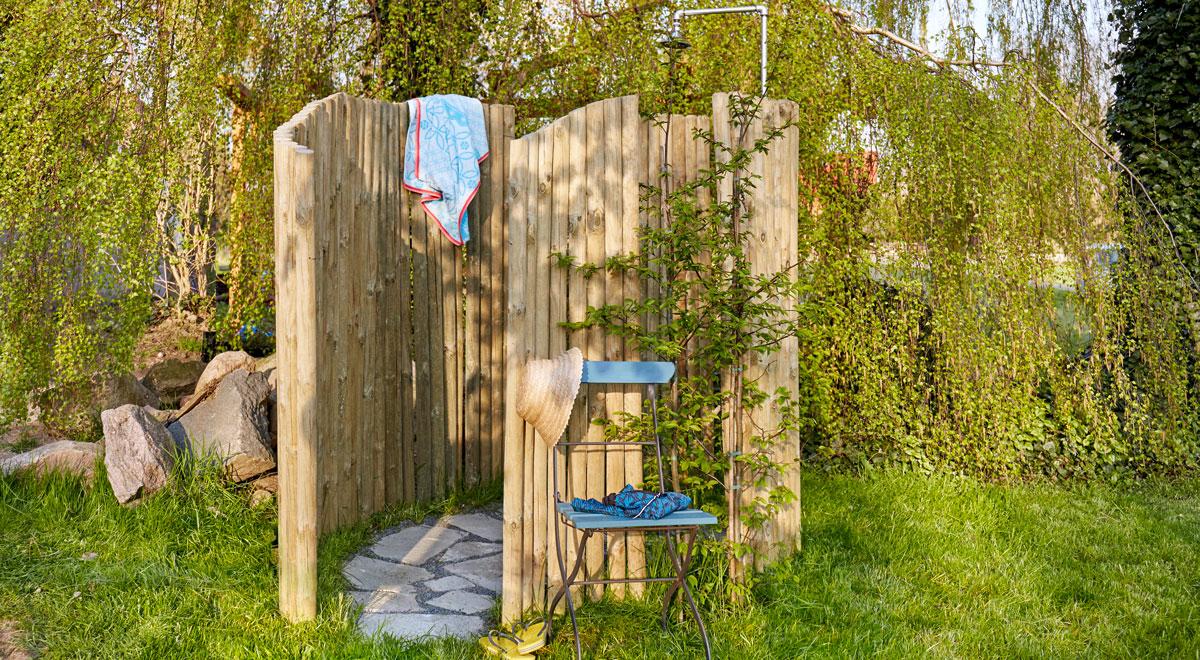 Credenza Da Esterno Fai Da Te : Doccia da giardino fai te in legno come costruirla un