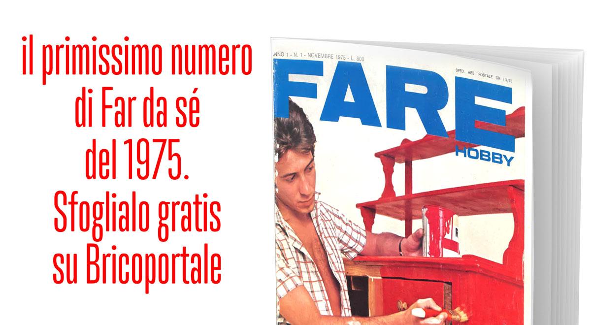FARE, la rivista di bricolage dal 1975