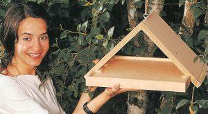 Mangiatoia per uccelli fai da te in legno | Come costruirla in pochi passaggi