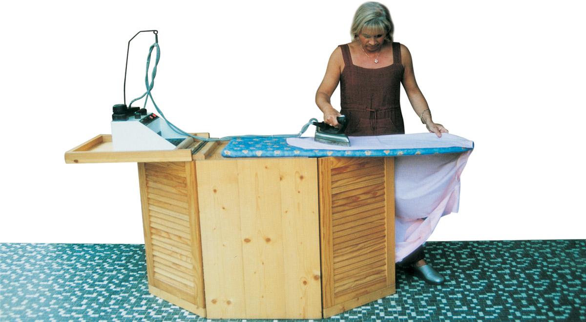 Mobile da stiro fai da te come realizzarlo in legno d 39 abete - Mobile legno fai da te ...