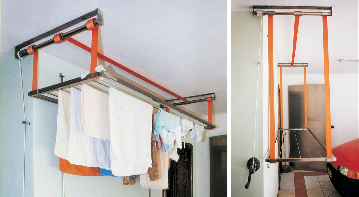 Stendino verticale da soffitto | Come costruirlo fai da te in acciaio