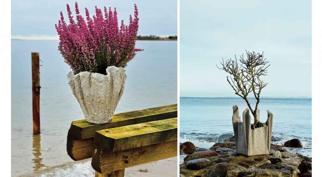 Vasi fai da te in stoffa e cemento come realizzarli rapidamente - Vasi decorati fai da te ...