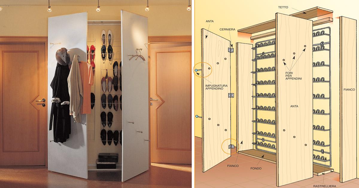 armadio portascarpe