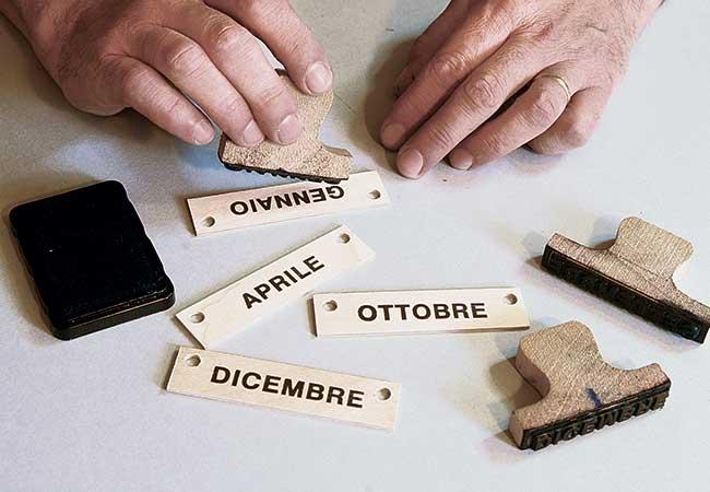 Eccezionale Calendario fai da te valido per tutti gli anni - Bricoportale.it JZ57
