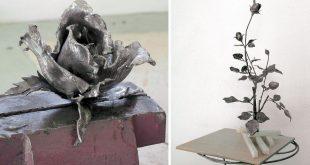 fiori in ferro battuto