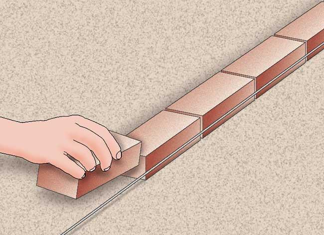 Muretti Da Giardino In Mattoni : Muretto mattoni come farlo rapidamente bricoportale