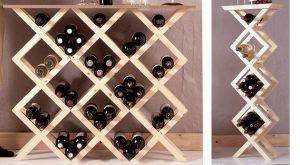 Portabottiglie fai da te modulare | Guida alla costruzione